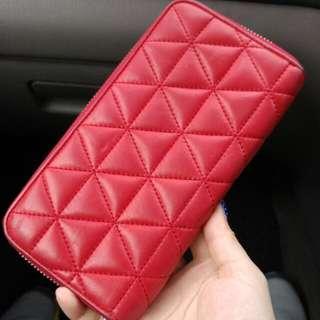 Preloved Agnes B Zip Wallet