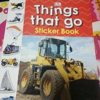 BN sticker book