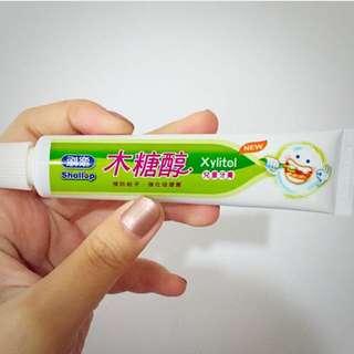 刷樂👶🏻木糖醇兒童牙膏