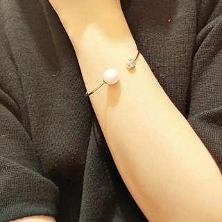 全新 正韓 手環 珍珠鑽