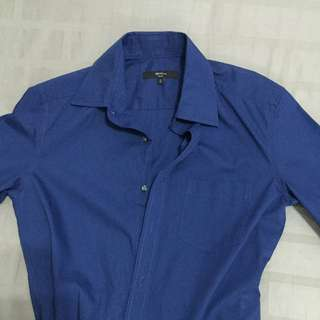 G2000 Men's Blue Shirt