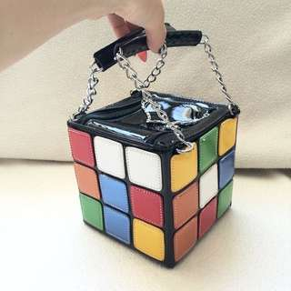 Rubik's Cube Retro Handbag