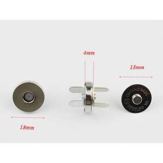 Nickel Magnetic snap button