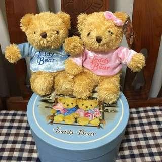 泰迪熊  2005年 7-11 情人節限定 teddy bear