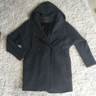 100% wool autumn/winter coat