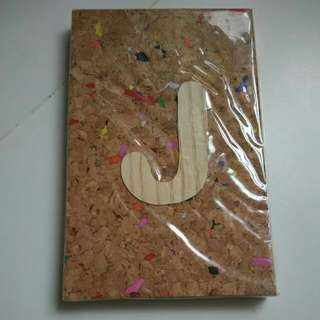 "Brand New Notebook With ""J"""