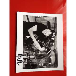 """Wayne's World Mike Myers """"Party On"""" Autographed Photo!  Rare!"""