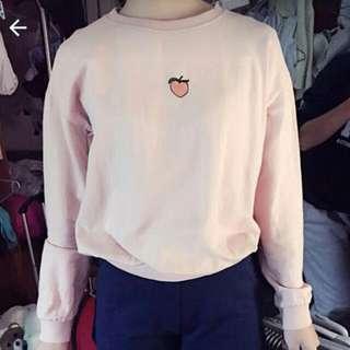 桃子 水蜜桃衛衣(含運)