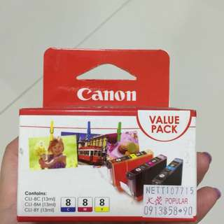 Canon Value Pack Printer Ink