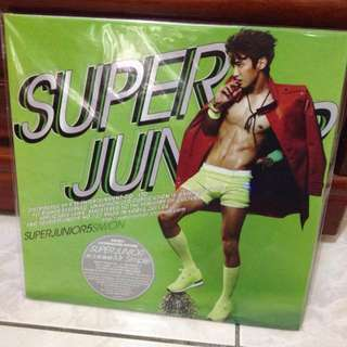 super junior 5輯 Mr.simple CD 始源