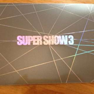 SJ SUPER JUNIOR / SUPER SHOW 3演唱會 寫真書