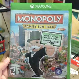 Instock! Xbox One Game Monopoly Brand New