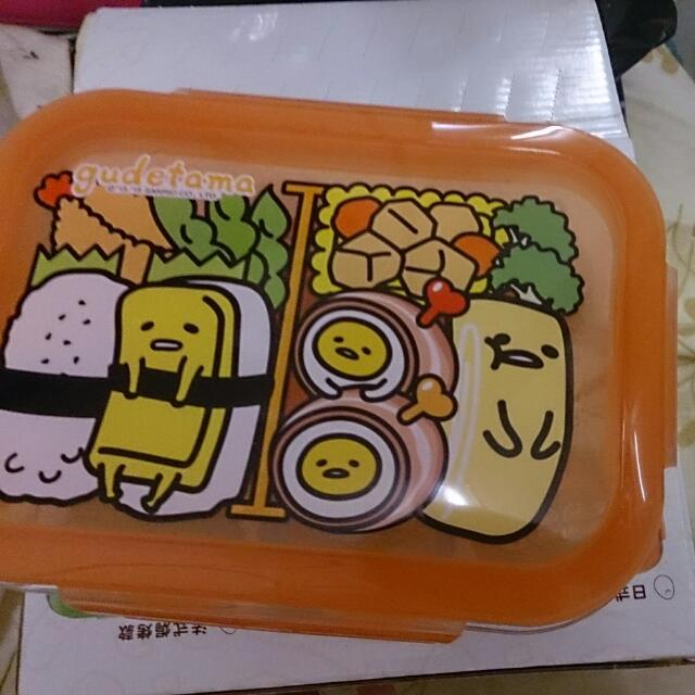 蛋黃哥保鮮盒7-11
