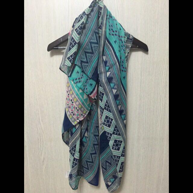 波希米亞風格絲巾