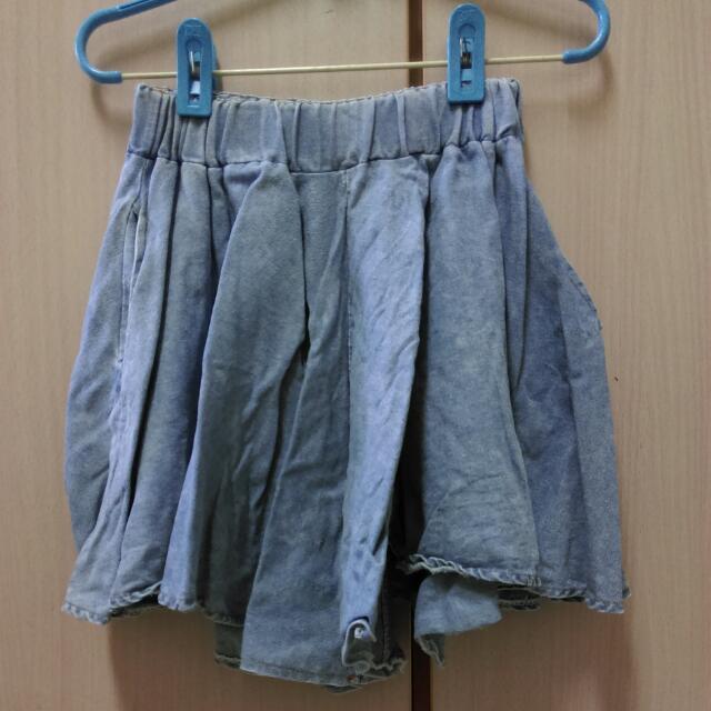 降☑單寧褲裙