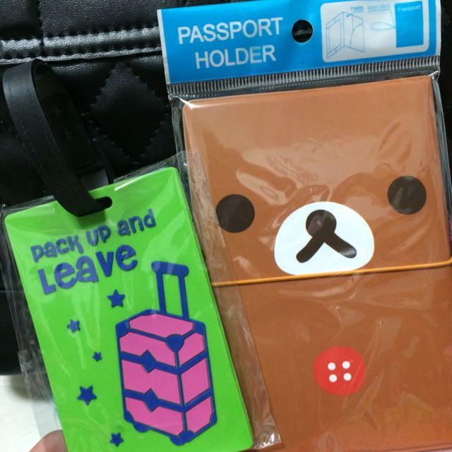拉拉熊護照套❤️