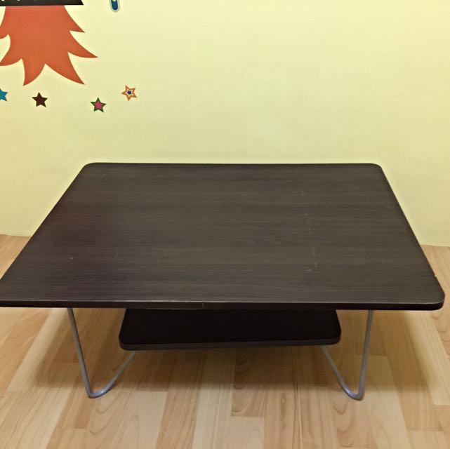 實木雙層矮桌