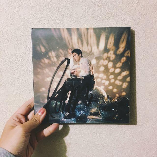 蕭敬騰簽名專輯未拆全新