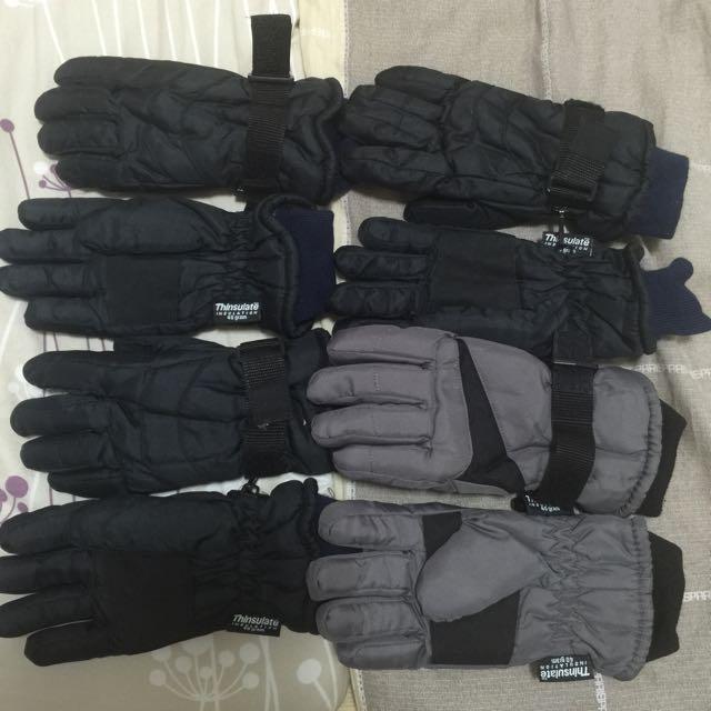 內刷毛 保暖 防風防滑防水 騎車 手套
