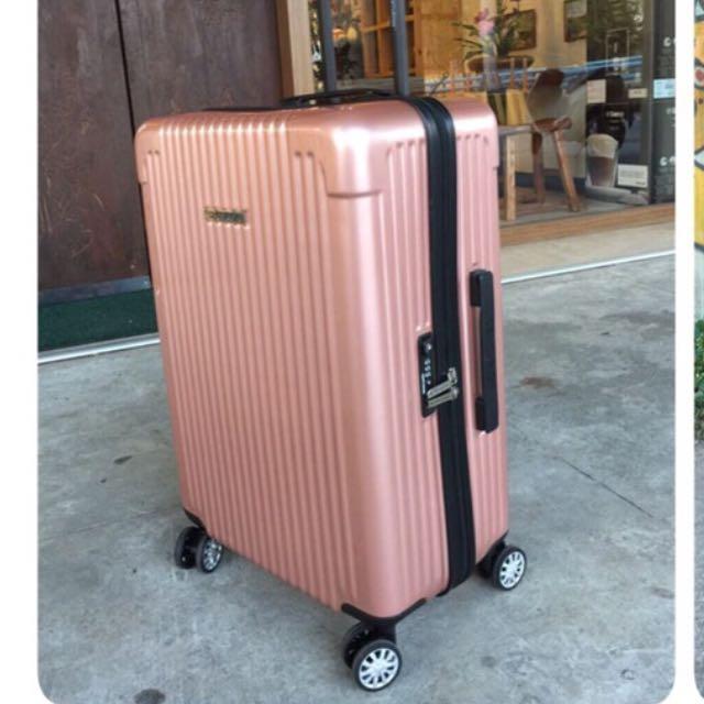 美國 Centrion 行李箱 玫瑰金 22吋 網路正夯旅行箱