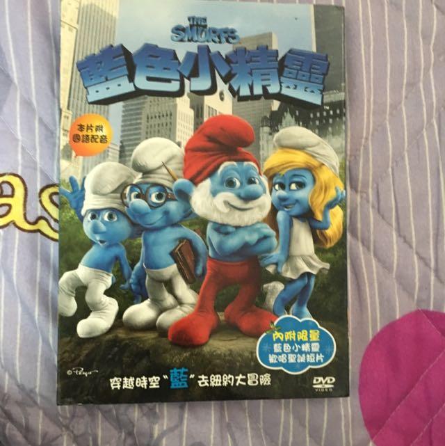 藍色小精靈 DVD