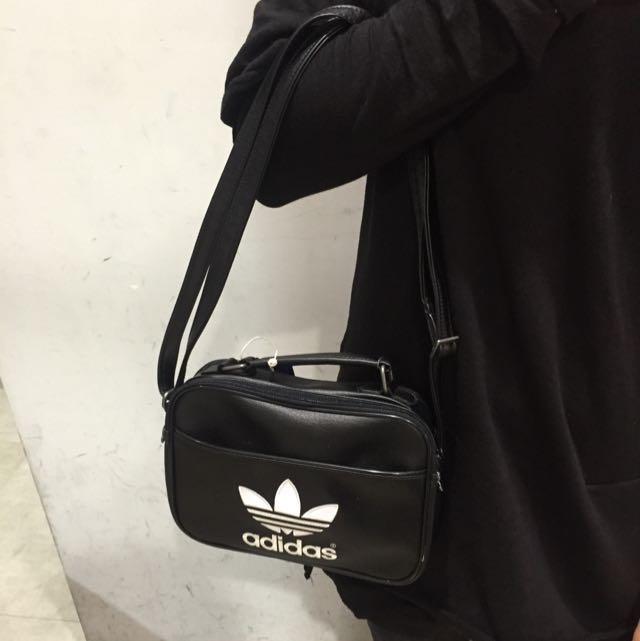 Adidas Original 女生 側背包 長