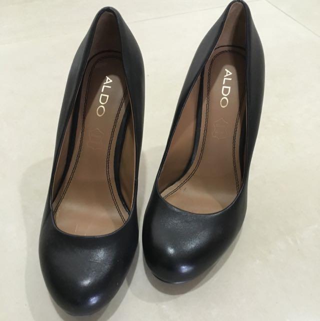 64545e764ef Aldo 4 Inch Black Pumps Shoes
