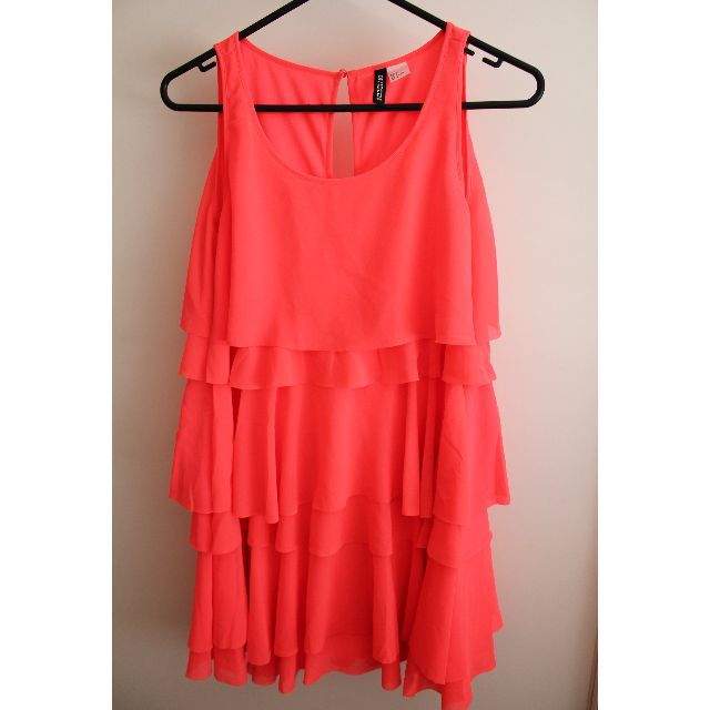 Bright Pink Dress from H&M - Size 4-8