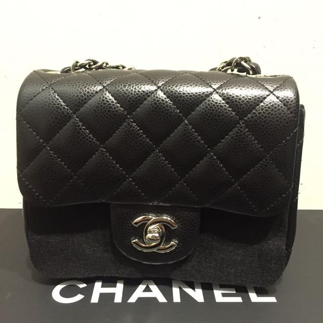 Chanel正方形17cm