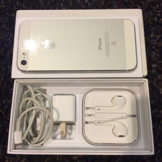 Iphone5  16GB  白銀