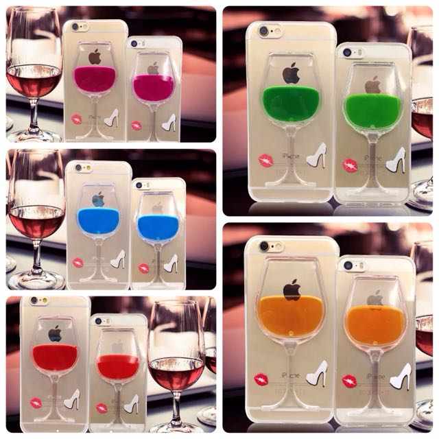 🍷酒杯支架手機殼iphone5/iphone6