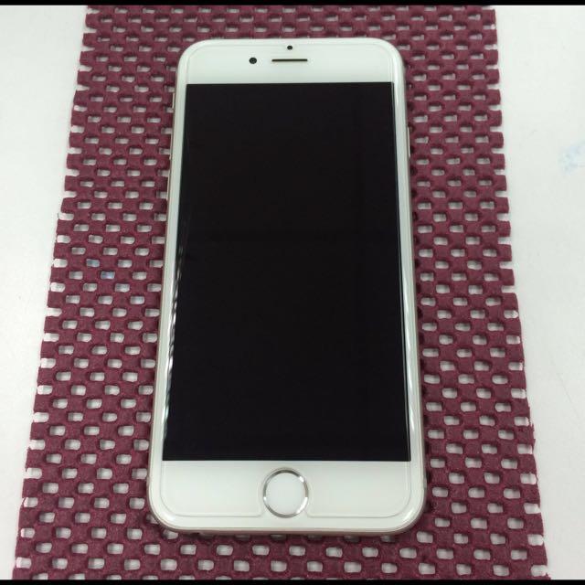 iPhone 6 16g 銀 九成新 附盒裝 配件(不含耳機)