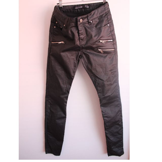 fd954f3751ac JayJays Faux Leather Pants Size 9