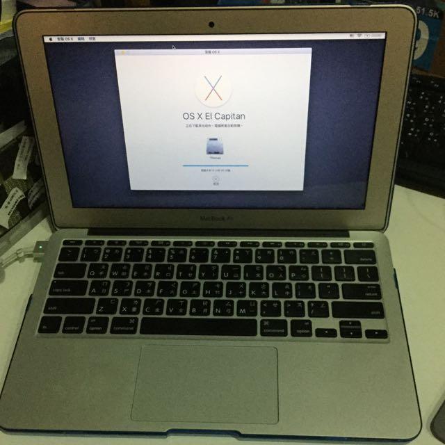 極新 macbook air 11.6寸 2014購入