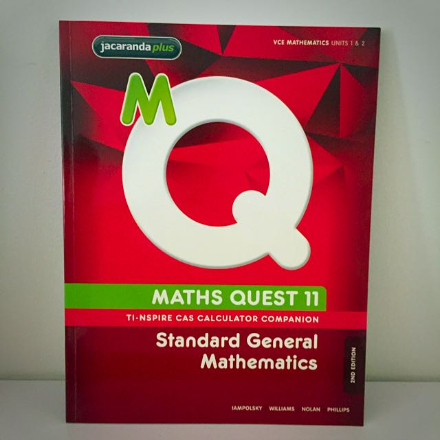 MATHS QUEST 11