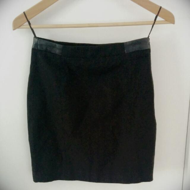 MNG Black Skirt