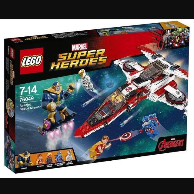 (new) Lego 76049 鋼鐵人/美國隊長 飛機