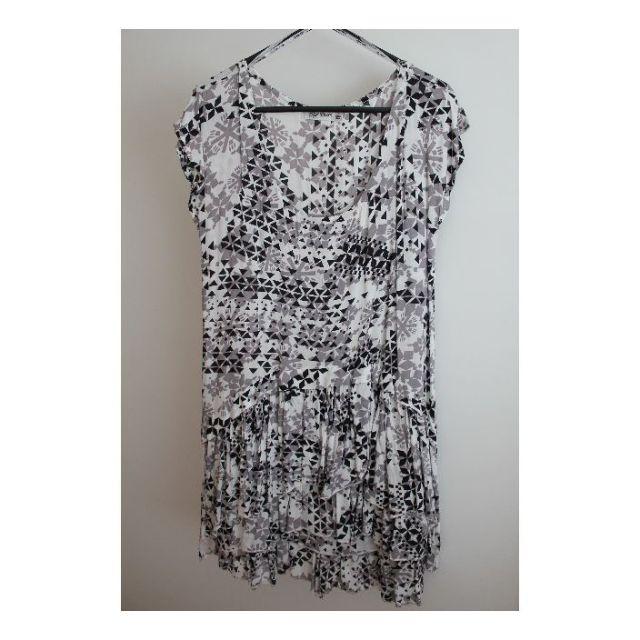 PaperScissors Shirt Dress- Size 8