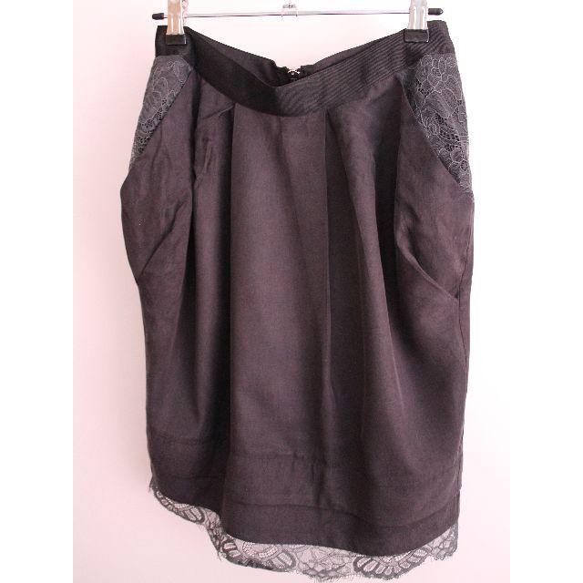 Portmans Charcoal Grey Pencil Skirt - Size 8