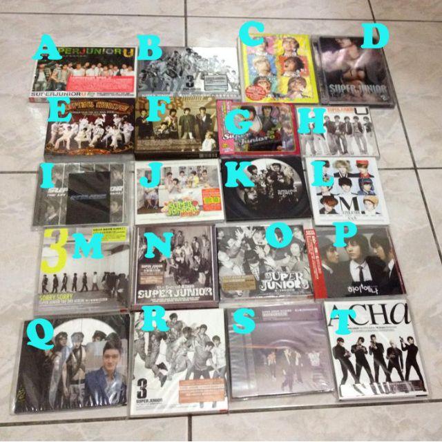 super jnuior 音樂CD sorry sorry KPOP 韓樂
