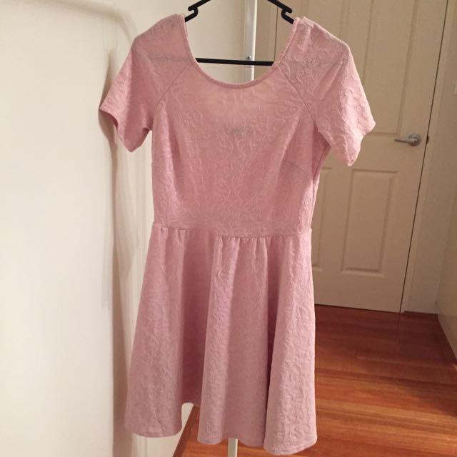 Dorothy Perkins Textured Pink Dress