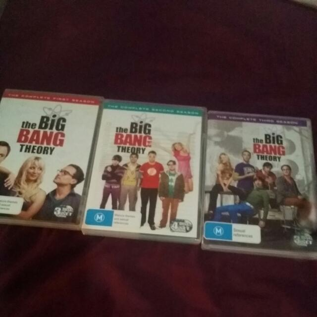 The Big Bang Theory Seasons 1,2&3