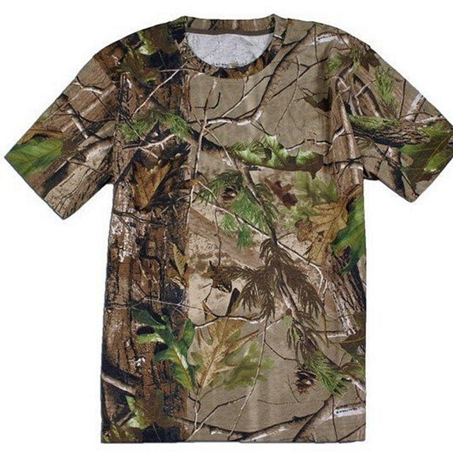 T-Shirt Camo Lengan Pendek