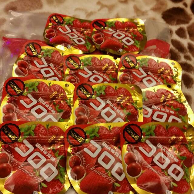 日本UHA草莓軟糖