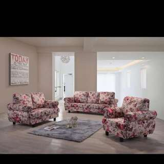 3 + 2 Fabric Sofa Set