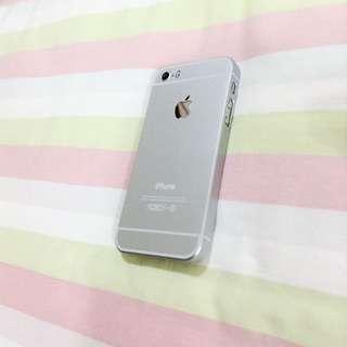Iphone5/5s銀色手機殼