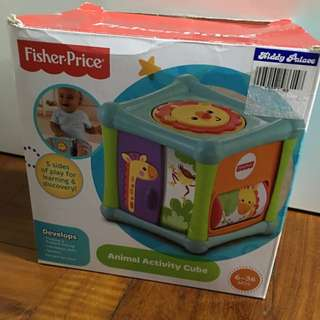 Fisher-Price Animal Activity Cube