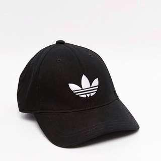 全新正品 愛迪達 adidas Originals Classic Cap 三葉草 復古 老帽 男女 棒球 帽 黑色 現貨