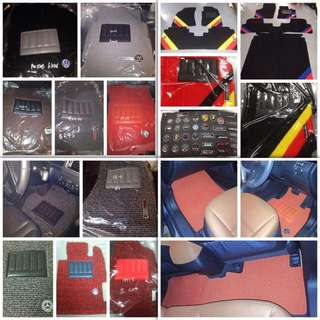 Customised 3M, AAA Premium, Super K, Duo colour or Carpet Carmats For All Cars.
