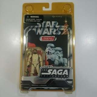 Star Wars The Saga Collection - Limited George Lucas In Stormtrooper Disguise